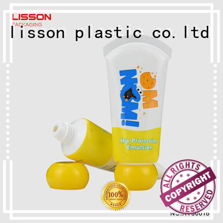top octagonal refillable oval  Lisson Tube Package Brand