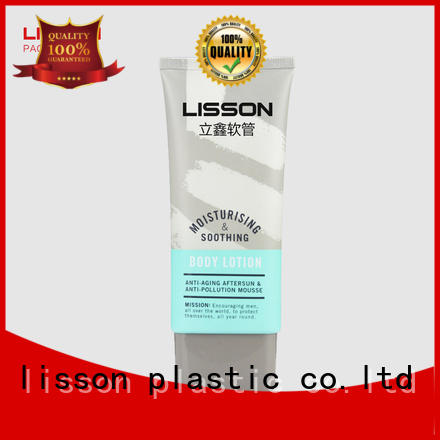 Lisson Tube Package Brand cosmetic care massage custom