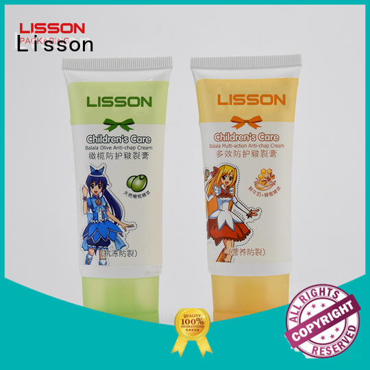 hand cream tube special shape for packing Lisson