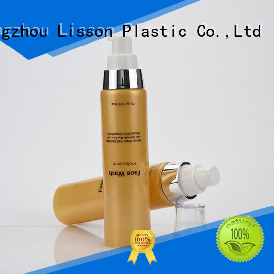 clear lotion pump barrier for lotion Lisson