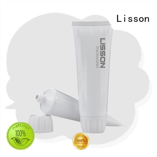 Lisson hot-sale plastic tubes with caps for wholesale for packaging