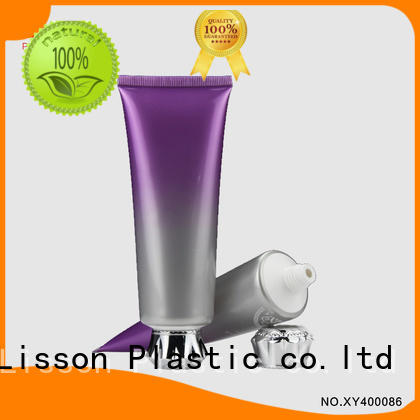 cosmetic tubes wholesale blossom as lotion packaging Lisson Brand