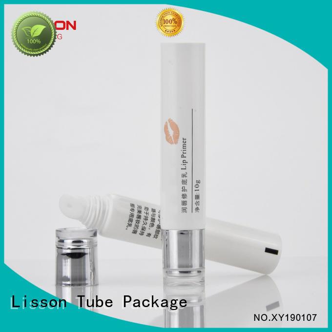 Custom eye empty tubes for creams roller Lisson Tube Package