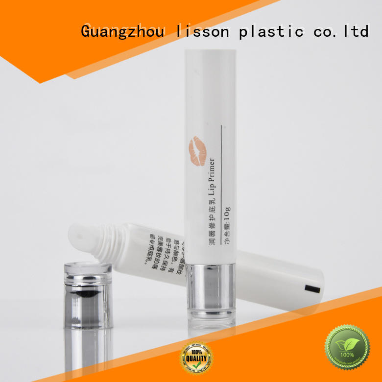 make Custom technology round empty tubes for creams Lisson Tube Package gloss