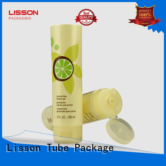 cap bottles with flip top caps Lisson Tube Package manufacture