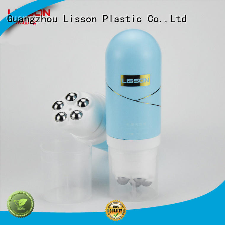 Lisson unique brand bulk cosmetic containers flip top cap for packing
