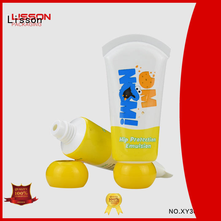 flip top empty tubes for creams special shape for makeup Lisson