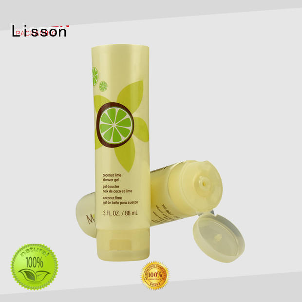 Lisson facial cleanser flip top cap face wash for cosmetic