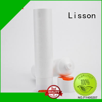 special shape cosmetic packaging companies OBM for cleanser Lisson