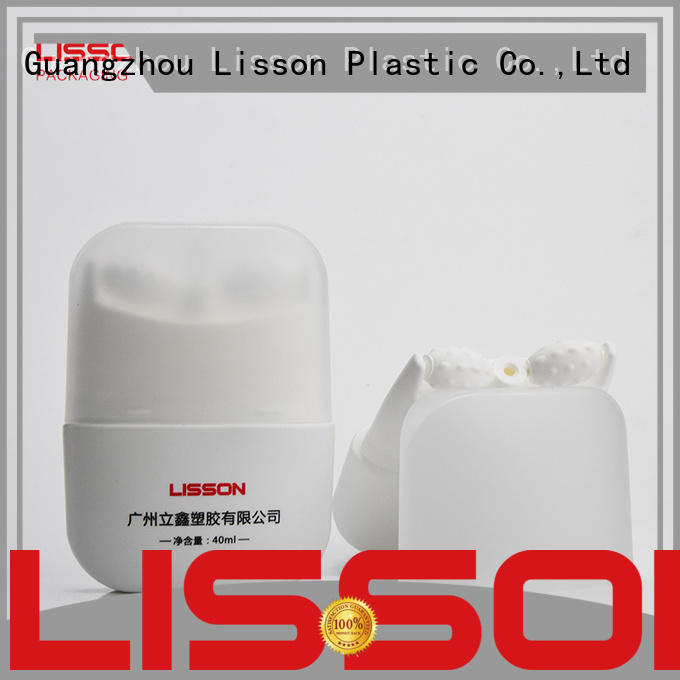 six steel plastic tube containers double for packing Lisson