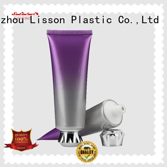 Lisson transparent custom cosmetic packaging at discount for cosmetic