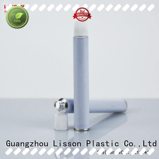 pure metal tube packaging aluminium for lotion Lisson