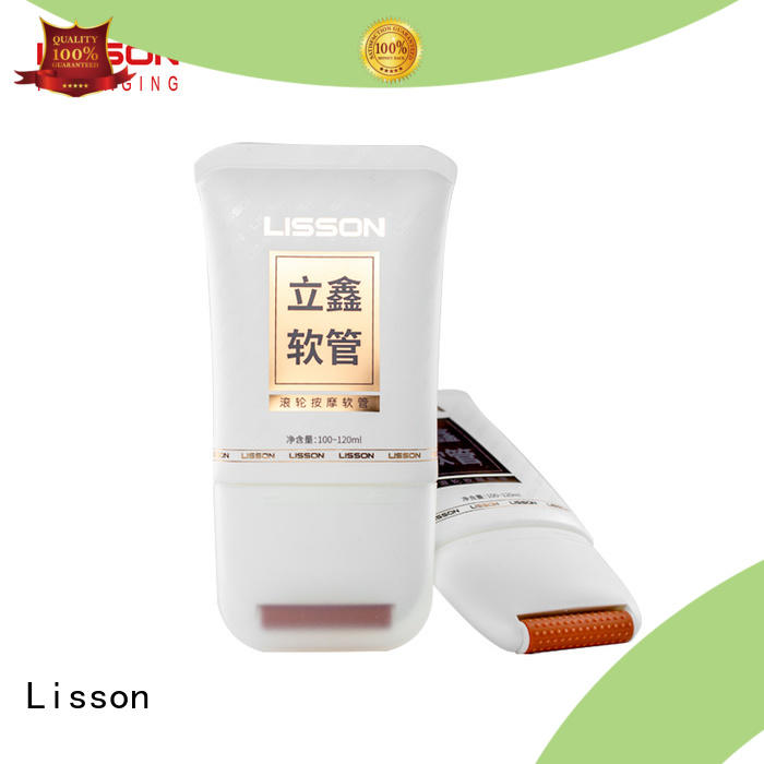 Lisson metal switch cosmetic squeeze tubes wholesale round rotary for packaging