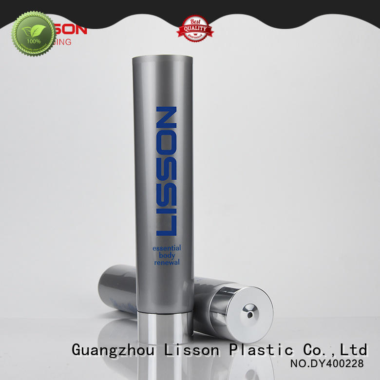 Lisson aluminium covered plastic tube packaging round rotary for cleaner