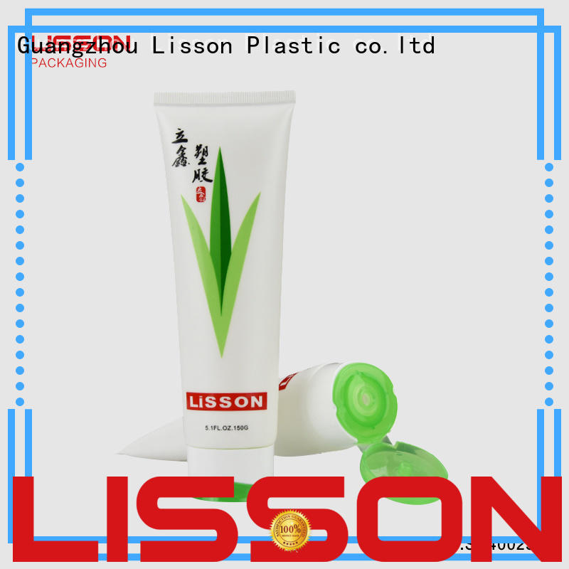 color round switch top green cosmetic packaging Lisson