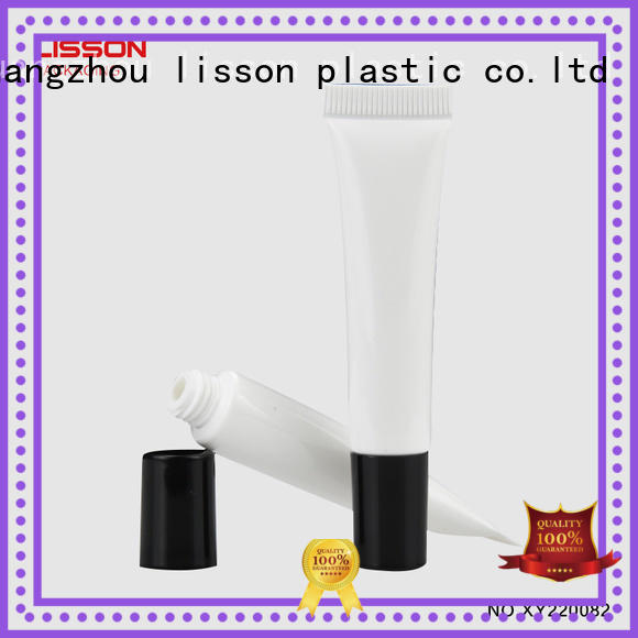 plastic tubes with screw caps top tube plastic tube caps round Lisson Tube Package Brand
