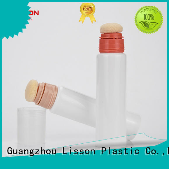 Lisson sunscreen cosmetic plastic tube manufacturers cotton head for packing