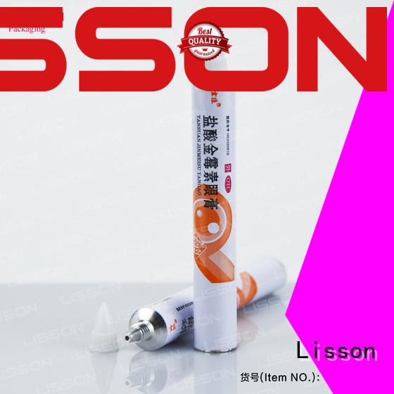 Lisson aluminium cosmetic containers wholesale at discount for lotion