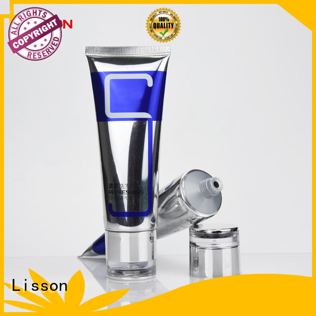 Lisson facial cleanser packaging for skin care products cheapest factory price for cosmetic