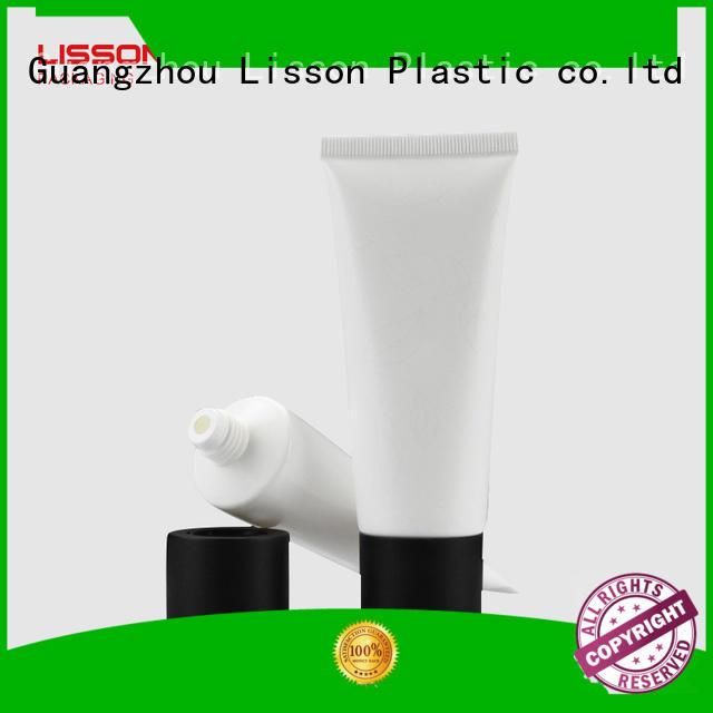 rounded hemisphere vertical Lisson Brand plastic tube caps