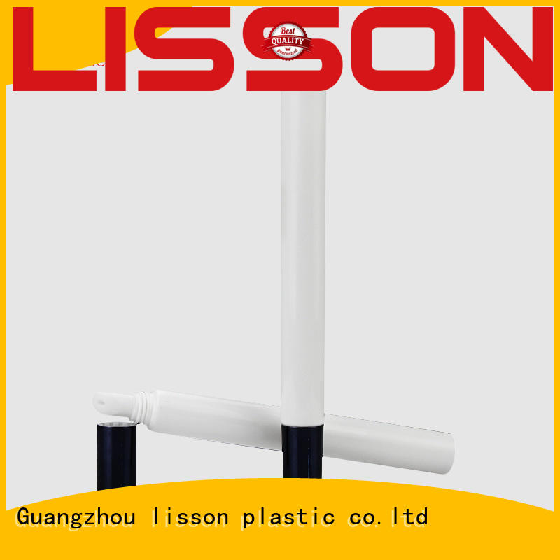 Hot round airless cosmetic bottles lip Lisson Tube Package Brand