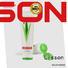 bottle tube packaging screw for lip balm Lisson