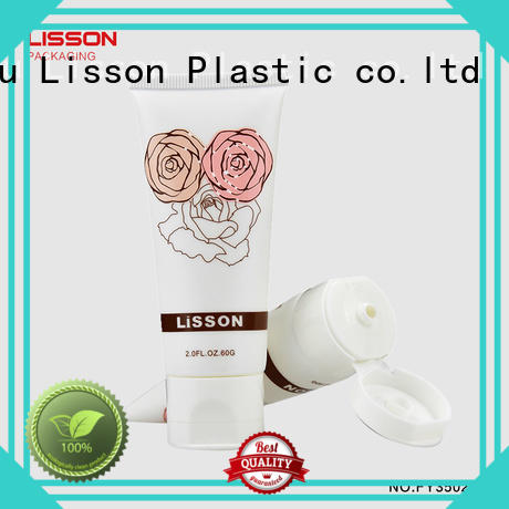 bottles with flip top caps cap cleanser tube Lisson Brand