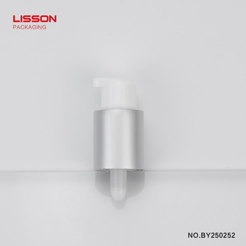 D25 ABL tube airless pump metallized head transparent cap-1