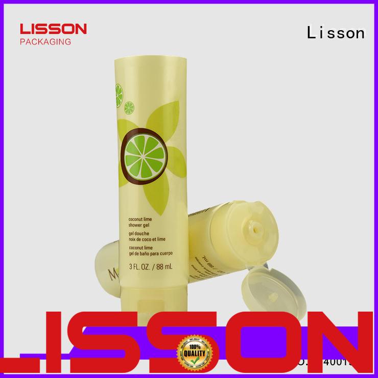 empty flip top bottle caps top quality for cleanser Lisson