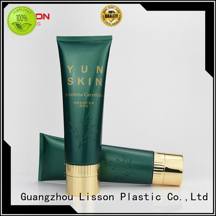 Lisson six steel cosmetic dispensing tubes rollers for packing