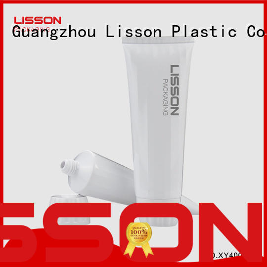 Lisson free sample cosmetic packaging companies tooth-paste for lotion