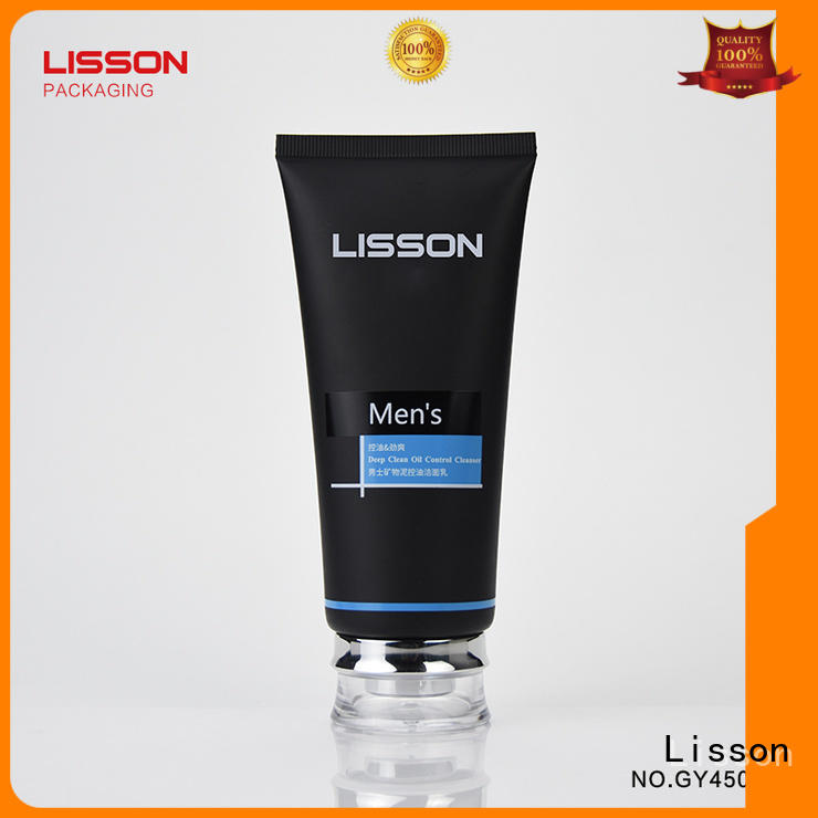 Lisson diamond skincare packaging supplies at discount for cleanser