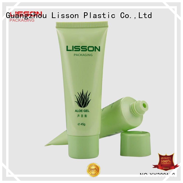 Lisson rounded angle squeeze tube packaging hot-sale for sun cream