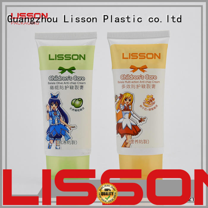 hand cream tube packaging refillable for makeup Lisson