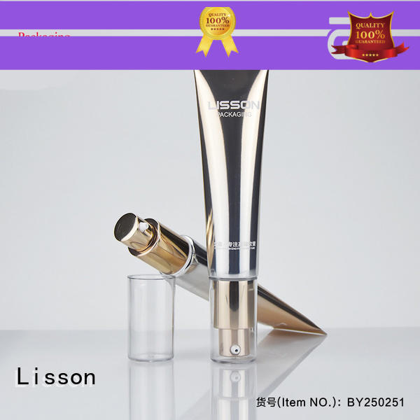 Lisson hemisphere squeeze tubes for cosmetics durable for lotion