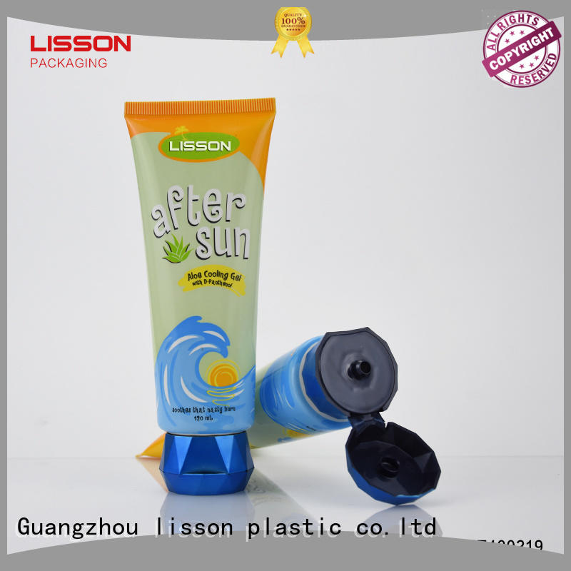 clean Lisson Tube Package Brand