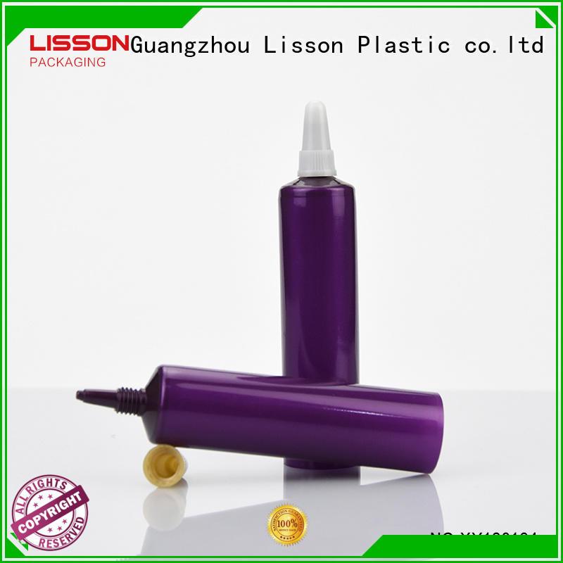 stripe vertical hemisphere plastic tube caps Lisson Brand