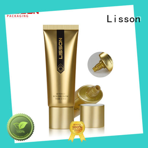 stripe wholesale lotion squeeze tubes squeeze top quality for cream