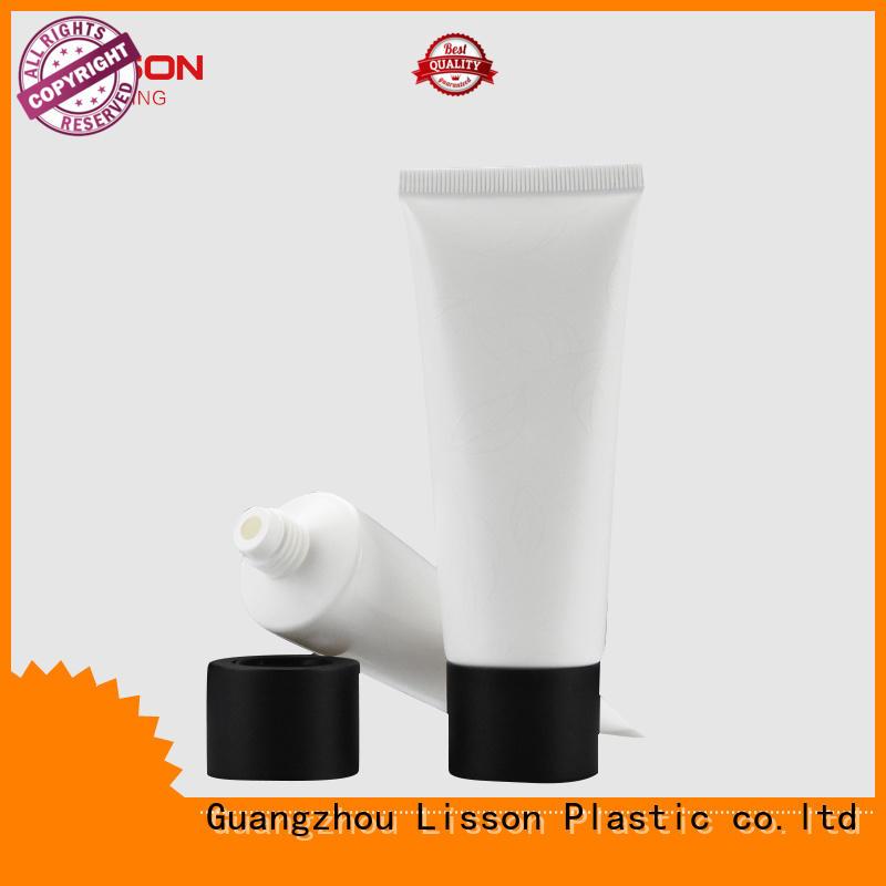 top screw rounded OEM plastic tube caps Lisson