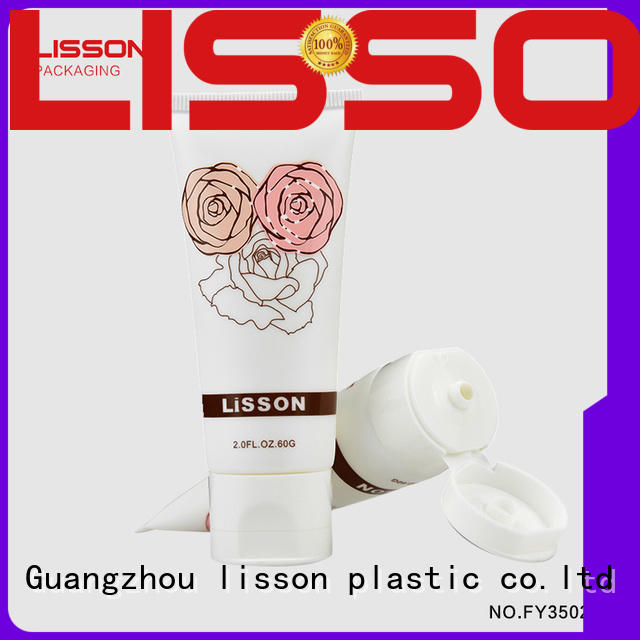 cosmetic tube manufacturers plastic silver Bulk Buy packaging Lisson Tube Package