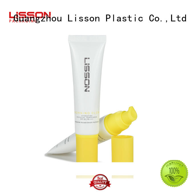 Lisson hand lotion pump barrier for lotion