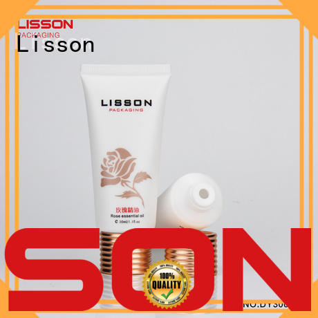 as golden lotion packaging thread Lisson company