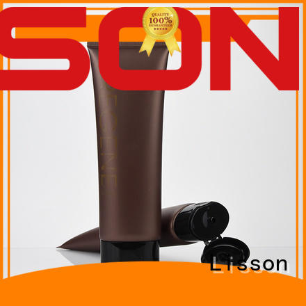 Lisson Brand cotton squeeze cosmetic tube manufacturers oval