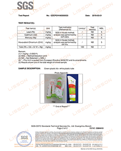 tube containers wholesale aluminium for packaging Lisson-17