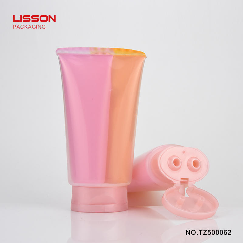 special shape cosmetic tube packaging free design for cosmetic Lisson