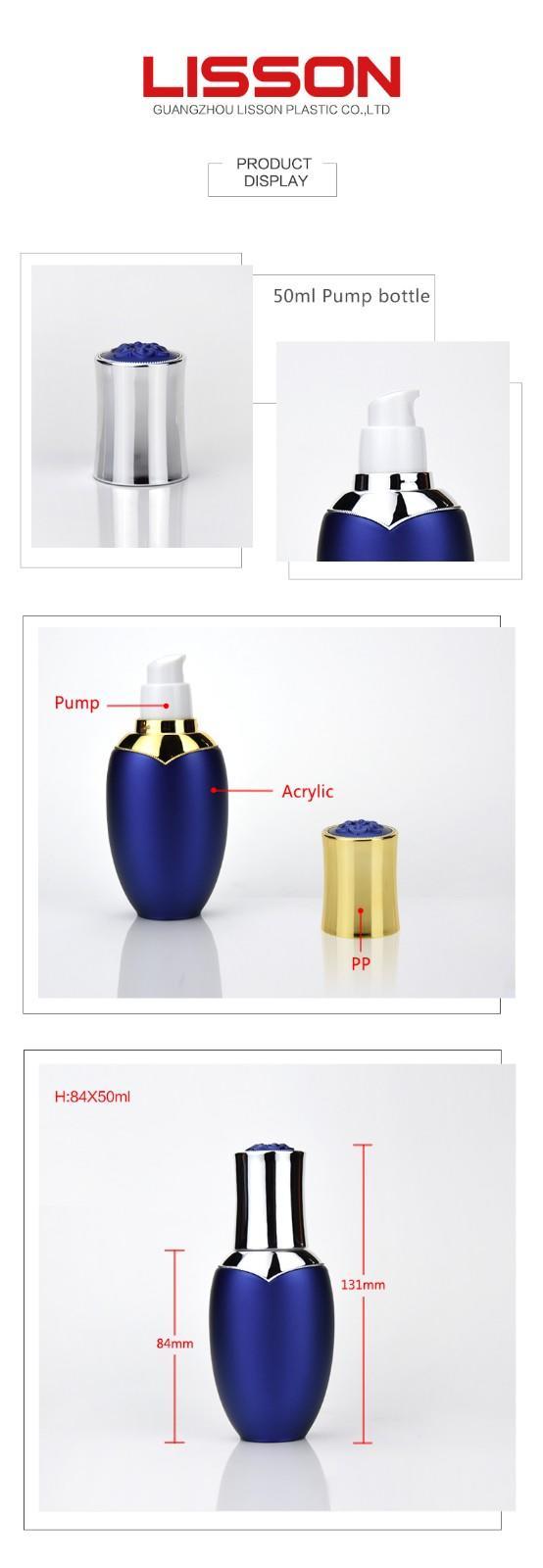Lisson on-sale cosmetic bottles wholesale bulk production for wholesale
