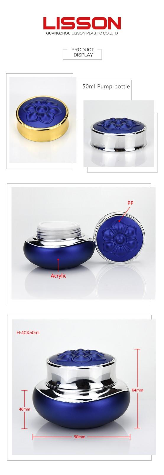 Luxury Cosmetic Jars for Creams Customized Service