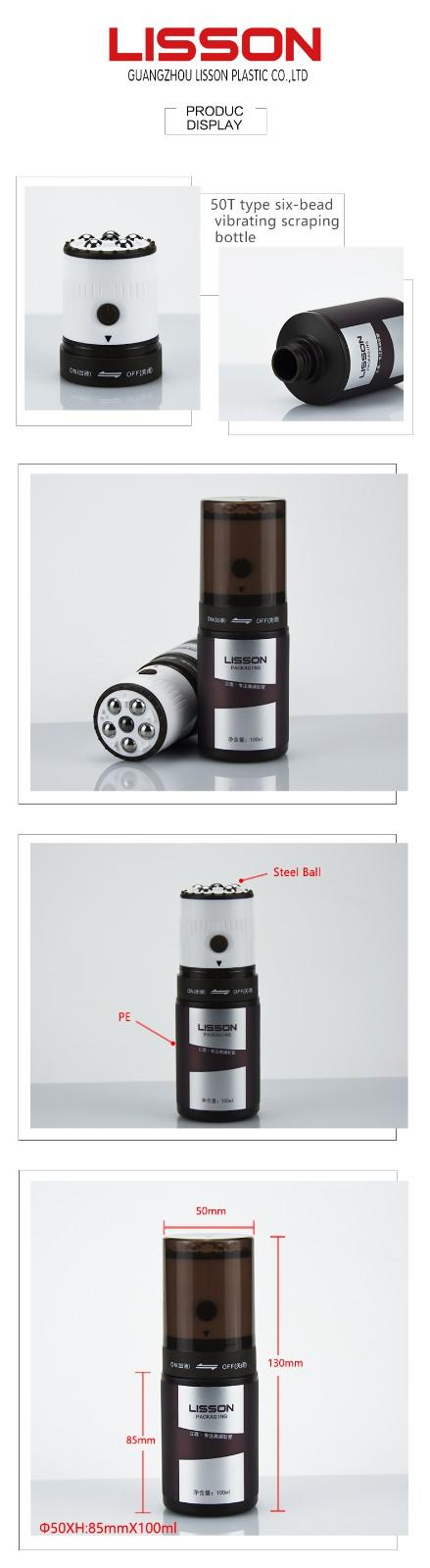 China Six Steel ball Massage Bottle for Relax