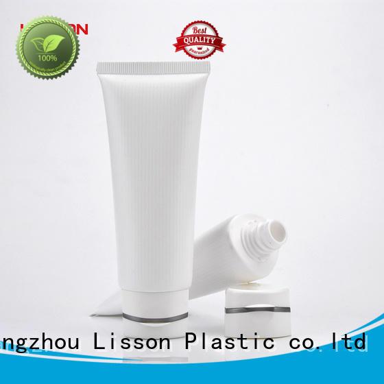 Hot plastic lotion tubes big Lisson Brand