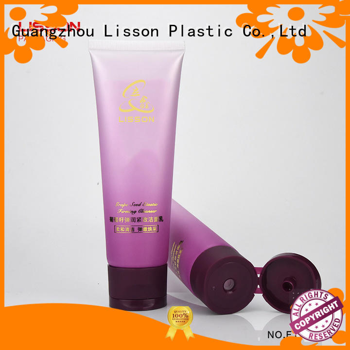 Lisson on-sale plastic tubes with caps free design for lotion